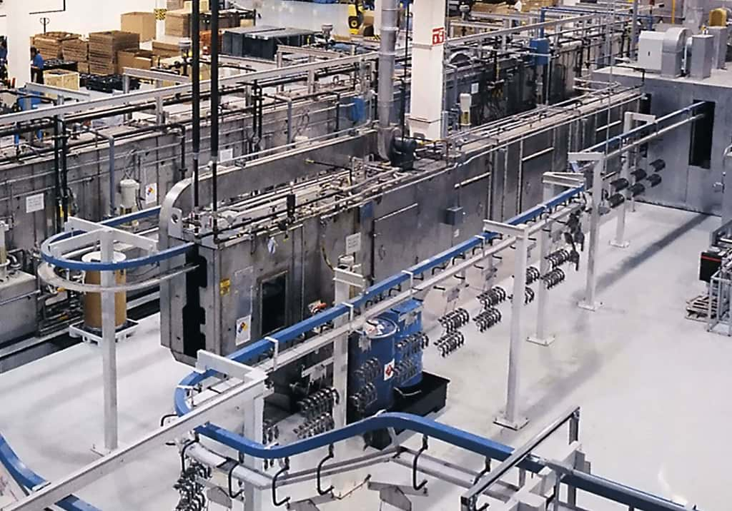 Cincinnati Industrial Machinery Finishing Systems