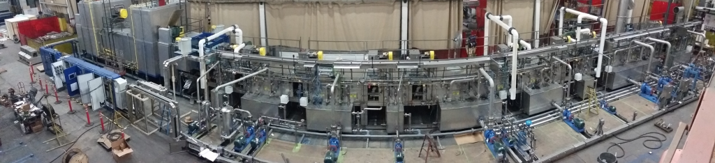 Industrial Washer Wash Coaters Machine Panorama