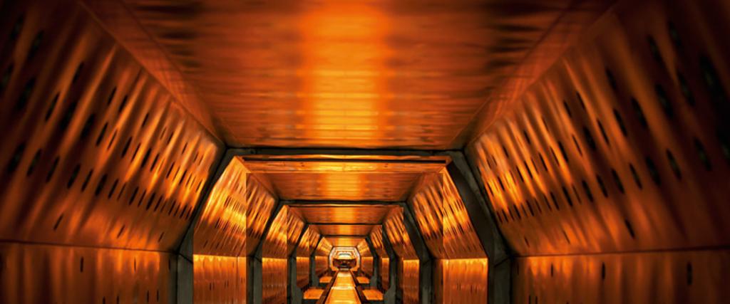Cincinnati Industrial Machinery Industrial Ovens Interior Orange Glow