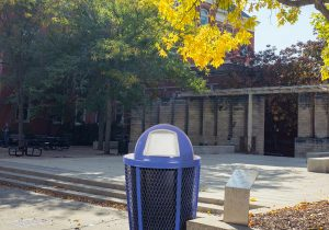 Witt Industries Blue EXP 2020 Base Receptacle Outdoor Environmental