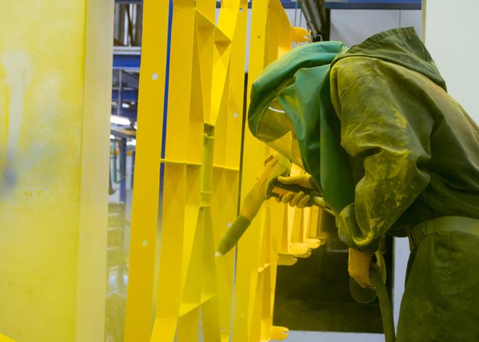 Cincinnati Industrial Machinery Industrial Ovens Powder Coating Systems